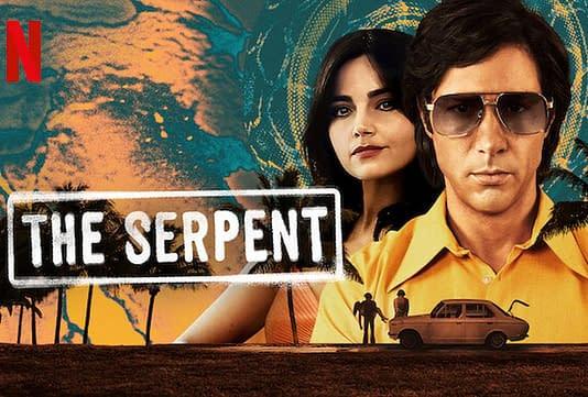 Découverte de la serie Le serpent en écran géant