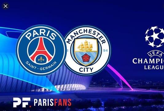 ⚽ Paris  VS Manchester city ⚽